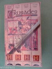 Crusades (VHS, 1995, 4-Tape Set) Host Terry Jones (of Monty Python) NEW Sealed