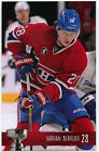 NEW 2014-15 NATHAN BEAULIEU MONTREAL CANADIENS PLAYOFFS TEAM ISSUE POST CARD