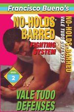No Holds Barred #2 Vale Tudo Defense Against Attacks Dvd Francisco Bueno mma