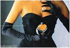 Publicité Advertising 1988 (2 pages) Parfum Magie Noire de lancome