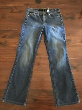 DKNY Women's East Village Stretch Jeans Pants Sz 4 Dark Blue Wash EUC 28x29