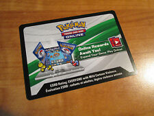 Emailed Pokemon EEVEE (SM184) Card ONLINE CODE +Coin UNBROKEN BONDS Sun and Moon