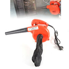 700W Elektrisch Staubbläser Handheld Luftgebläse Gartensauger + Staubbeutel 220V