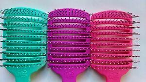 Wet Brush Professional FLEX PADDLE BLUE PINK PURPLE  (1 pc)  - SAME DAY SHIPPING