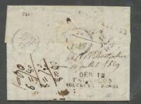 1829 Lettre DEBOURSES de MONTPELLIER et DEB 12 TARASCON BOUCHES DU RHONE P539