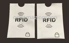 New 3 x RFID Blocking Sleeve Credit Bank Card Protector Holder for Wallet Purse
