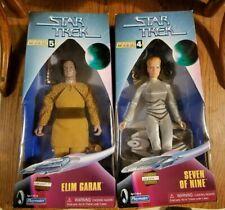Playmates Toys Star Trek Collectors Series 4 & 5 Seven of Nine and Elim Garak