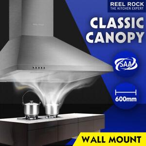 600mm 60cm Rangehood Stainless Steel Range Hood Kitchen Canopy