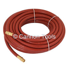 """30ft X 1/4"""" INCH RUBBER AIR LINE HOSE FOR COMPRESSOR SPRAY GUN AND AIR TOOLS"""