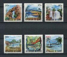27234) GUINEA 1966 MNH** Nuovi** 1966, Landscapes 6v
