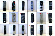 Assorted KENWOOD TEAC AIWA AKAI Audio Video Remote Controls