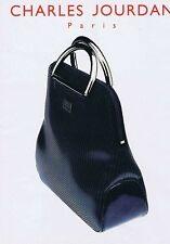 Publicité Advertising 016 1996 Charles Jourdan sac maroquinerie