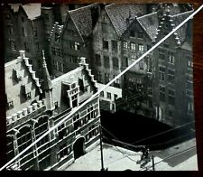 Vintage 1950s.Photo by Wolfgang Suschitzky.Rooftops Architecture. Ghent Street