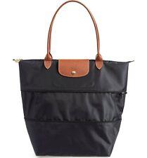 Longchamp Le Pliage Nylon Extandable Tote Bag Black 1849307ht001 France