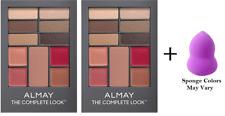 Almay The Complete Look Palette, Medium (2 Pack) + Makeup Sponge