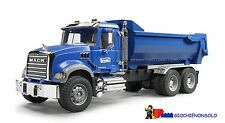BRUDER 02823 -  MACK Granite camion ribaltabile movimento terra