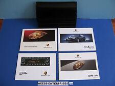2004 Porsche 996 911 Carrera C2 C4 4S Cab Coupe Targa Owner Manuals Package L135