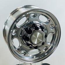 """16"""" 8 Lug Alloy Wheels Rims 1988-2010 Chevy Silverado 2500 3500 PLUS Caps Lugs"""