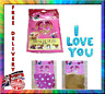 NEW I LOVE YOU SELF-INFLATING BALLOON BANNER BUNTING PARTY LARGE BALOONS