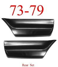 73 79 Ford Rear Lower Bed Patch Set Regular, Super, Crew Cab Truck 78 79 Bronco