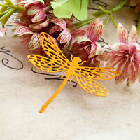 Dragonfly Metal Cutting Dies Stencil Scrapbooking Card Paper Embossing Cr frSLFR