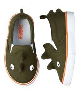 NWT Gymboree Boys SUNNY ADVENTURES Iguana Lizard Shoes Size 4