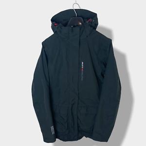 Womens Black Musto Evolution Gore-Tex Hooded Waterproof Jacket - Size 10 (S) X25