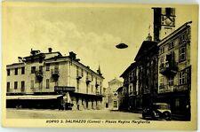 Cartolina Formato Piccolo- Borgo San Dalmazzo (Cuneo) - Piazza Regina Margherita