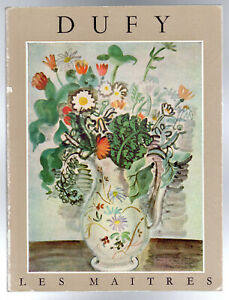 Raoul Dufy -  by Cogniat, Raymond,   (P/B 1954) English/French/German Text
