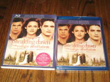 Twilight Breaking Dawn Part 2  Special Edition  Blu Ray + Slip Cover- NEW!