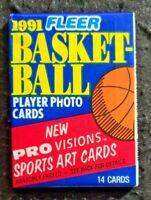 1991 Fleer Basketball Brand New Wax Pack - Michael Jordan * Single Pack *
