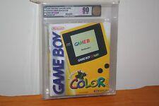 Nintendo Game Boy Color Dandelion Console - NEW SEALED MINT GOLD VGA 90, RARE!