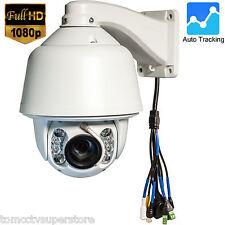 CCTV 1080P IR IP 20X PTZ Dome Camera Wiper Audio, Auto Tracking Hikvision Module