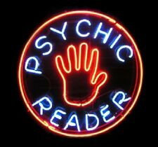 """New Psychic Reading Beer Man Cave Neon Light Sign 16""""x16"""""""