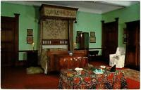 VINTAGE THE GLOUCESTER BEDROOM, HOLKER HALL, CARK-IN-CARTMEL POSTCARD - UNUSED