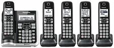 Panasonic KX-TG785 SK1 Link2Cell Cordless Phone - 5 Handsets, Answering & More!