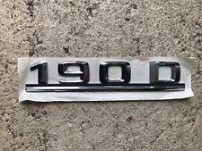 Mercedes-Benz Emblem 190 D