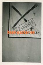 Foto/Vintage photo: 2. Weltkrieg/WWII - Soldatenhumor / soldier's humor [KH-216]