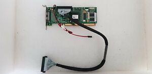 RAIDCONTROLLER ASR-2130SLP Scsi Raid Card Functional Adaptec Pci-X 128M (A17)
