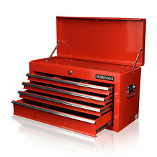 164 US PRO TOOLS RED STEEL MECHANICS 6 DRAWERS TOOL STORAGE CHEST BOX CABINET