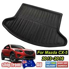 Fit For Mazda Cx-5 Cx5 2013-2016 Rear Trunk Boot Mat Liner Cargo Floor Carpet