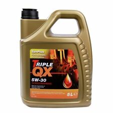5W-30 Triple QX 5w30 Fully Synthetic Car Engine Oil 5L - Ford Spec 5 Litre