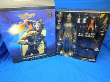 Hot Toys MMS254 Rocket & Groot Sideshow Exclusive Baby Guardians Of The Galaxy