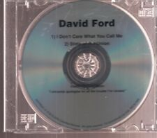 david ford i don't care what you call me dvd promo