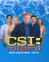 CSI Miami Series One Card Album with Christian de la Fuente Autograph Card MI-A1
