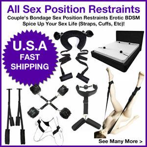 Couple's Bondage Sex Position Restraints Erotic BDSM Spice Up Straps, Cuffs, Etc