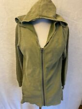 Canyon River Blues Size Medium Green Hooded Zip Up