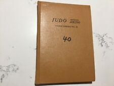 Judo appendix aikido tourist library volume 22 Kenji Tomiki 1959