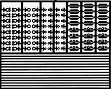 DETAIL MASTER 1/24-1/25 Battery Hardware Kit DET2340