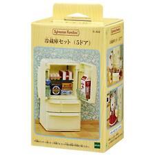 Sylvanian Families furniture refrigerator 5 door Epoch Japan Import Free ship